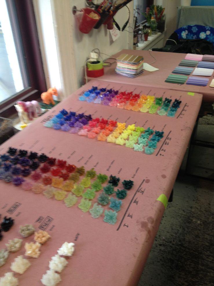 Megan Tamas Color Studies